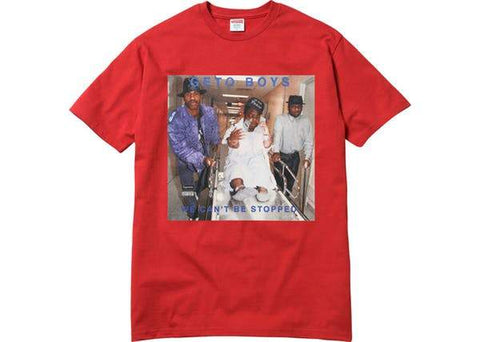 Supreme Rap A Lot Records Geto Boys Tee Red