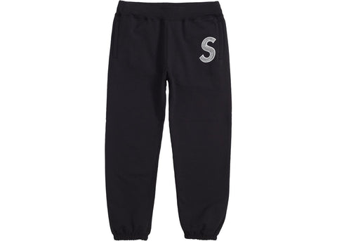 Supreme S Logo Sweatpant Black