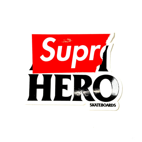 Supreme Anti Hero Sticker Small