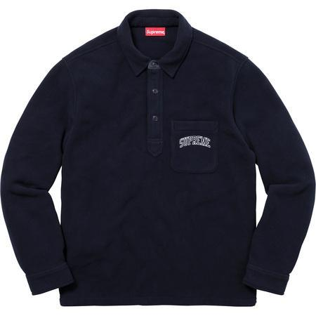 Supreme Polartec Pullover Shirt Black