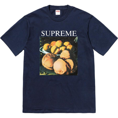 Supreme Still Life Tee Navy