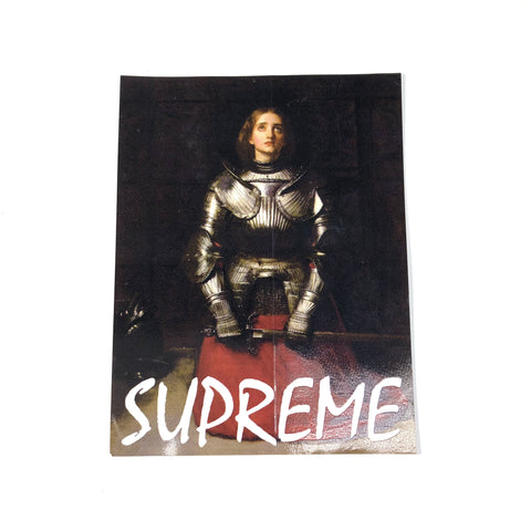 Supreme Joan of Arc Sticker