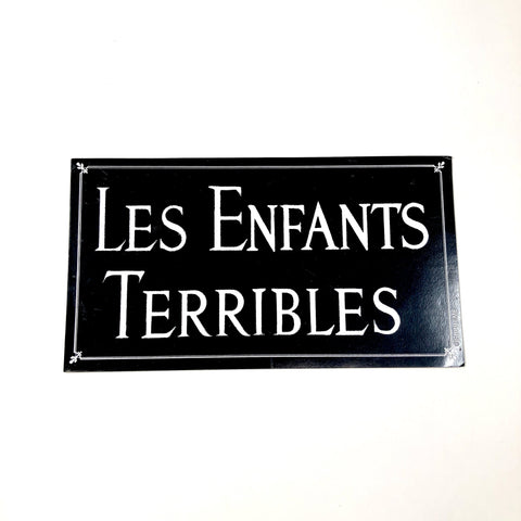 Supreme Les Enfants Terribles Sticker