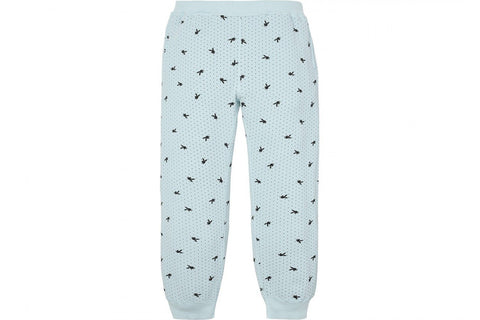 Supreme Playboy Waffle Thermal Pant Light Blue