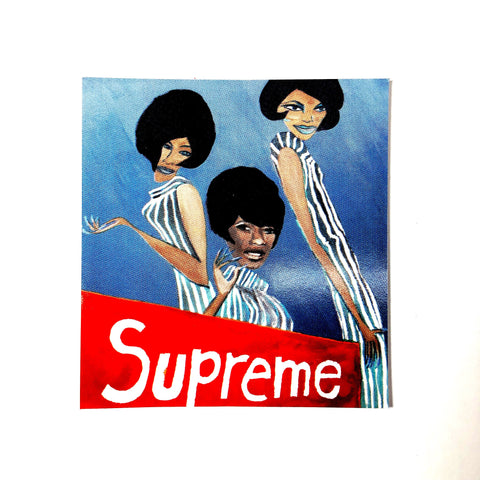 Supreme The Supremes Sticker