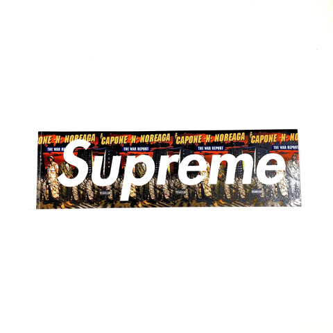 Supreme The War Report Box Logo Sticker
