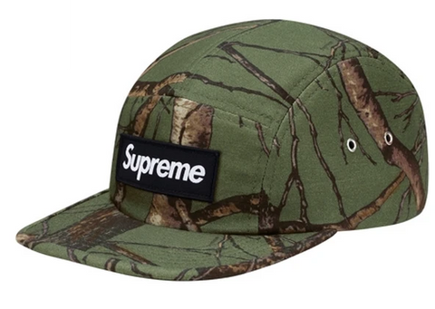 Supreme Tree Camo Camp Green
