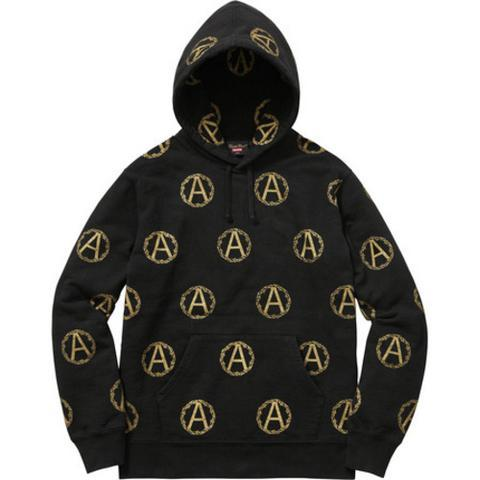 Supreme Undercover Anarchy Hooded Sweatshirt Black