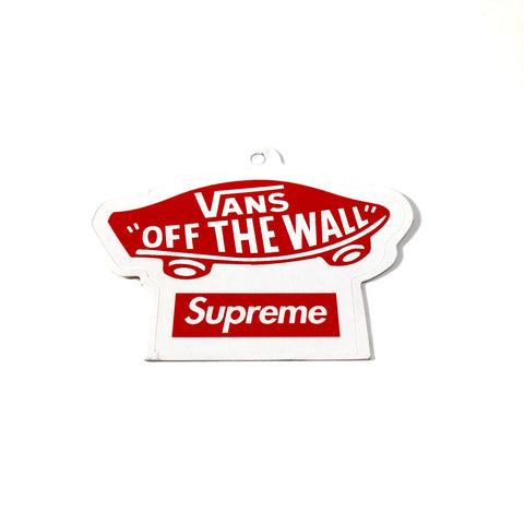 Supreme Vans Sticker
