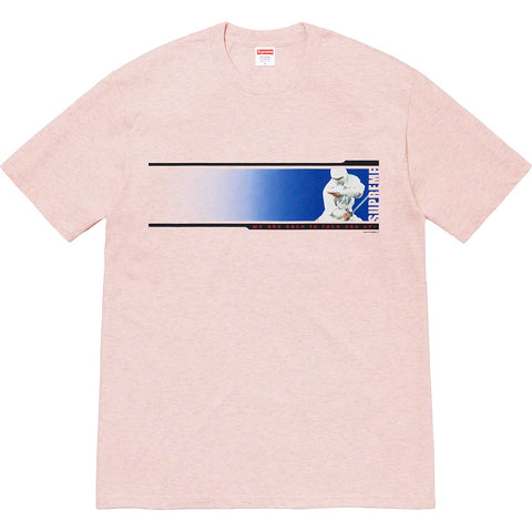 Supreme We're Back Tee Heather Light Pink