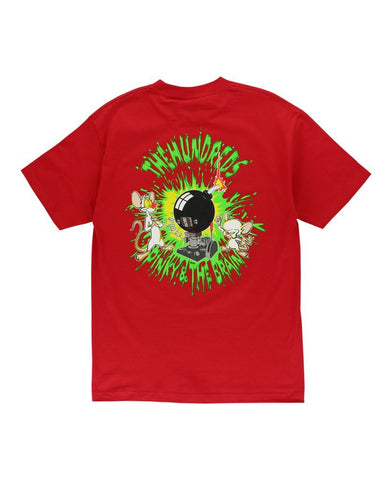 The Hundreds Pinky & The Brain Tee Red