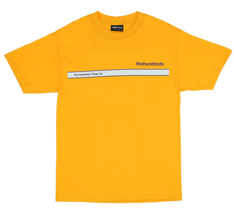 The Hundreds Public Tee Gold