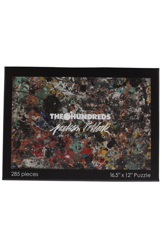 The Hundreds X Jackson Pollock Puzzle