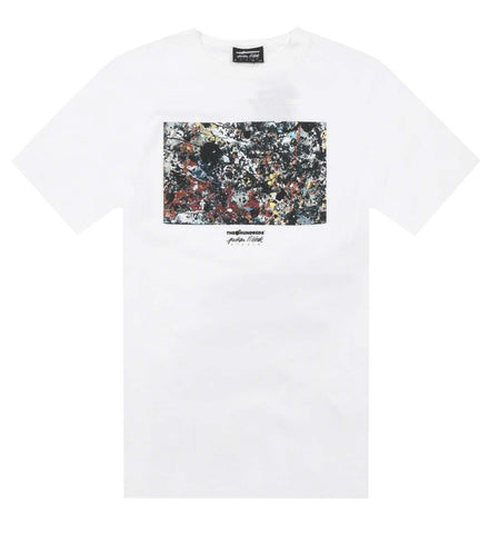 The Hundreds X Jackson Pollock Splatter Tee White