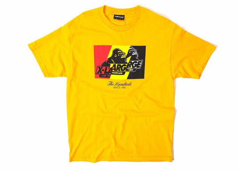 The Hundreds X X-L Gold Wildfire Tee