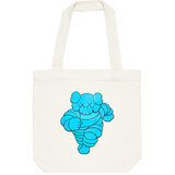 Kaws Tote Bag CHUM Blue