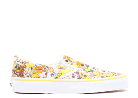 Vans Slip-On LX Murakami Yellow Skull