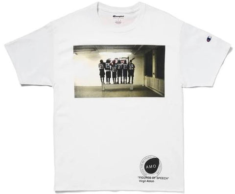 Virgil Abloh x MCA Figures of Speech Pyrex Team Tee White