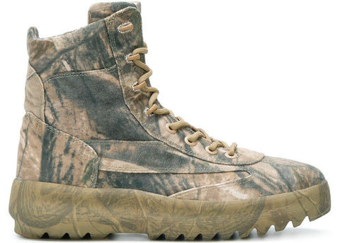Yeezy Canvas Boot Season 5 Camo