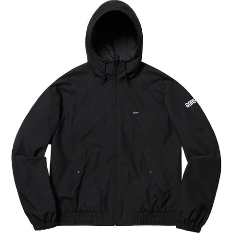 Supreme GORE-TEX Hooded Harrington Jacket Black