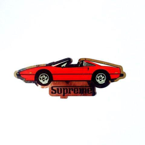 Supreme Ferrari Sticker