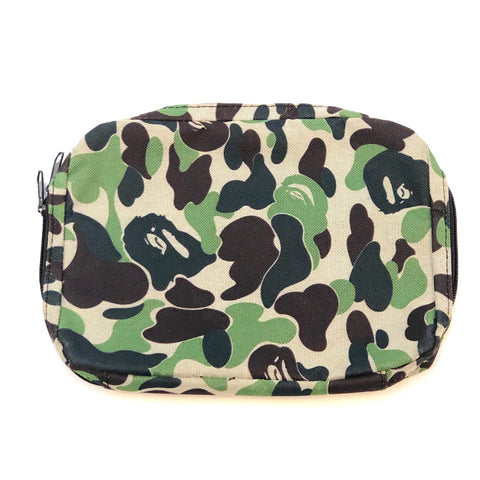 A Bathing Ape ABC Camo Travel Pouch