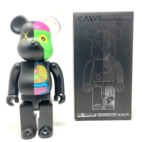 KAWS Be@rbrick Dissected 400% Black
