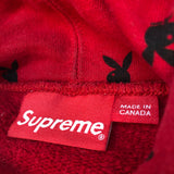 Supreme Playboy Hooded Sweatshirt Red