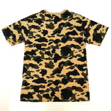 A Bathing Ape 1st Camo College Tee Yellow