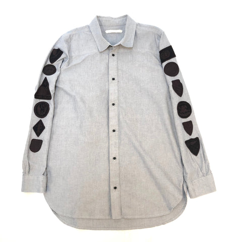Off-White Patch LS Button Up Shirt