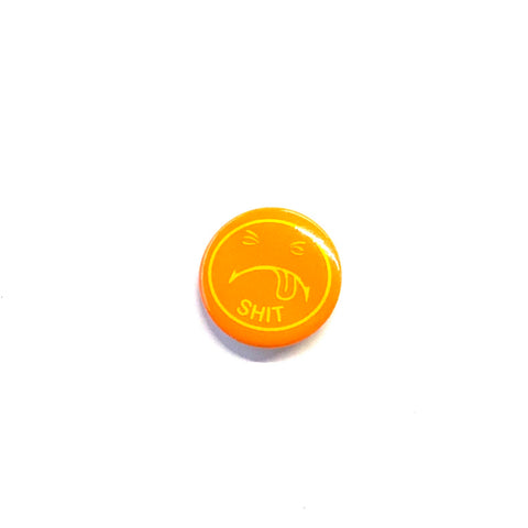 Supreme Shit Button Orange
