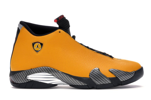 Jordan 14 Retro Ferrari University Gold