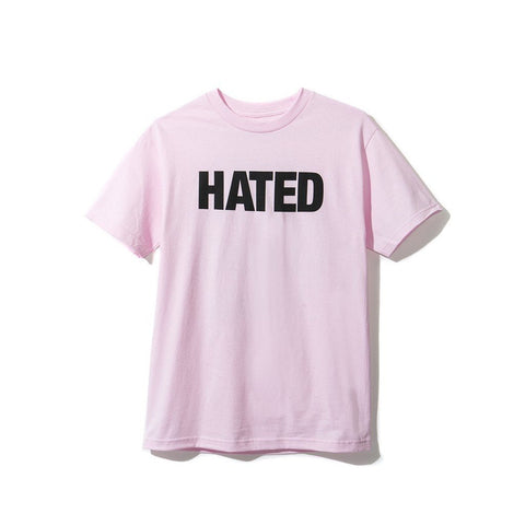 Anti Social Social Club Hated Tee Pink