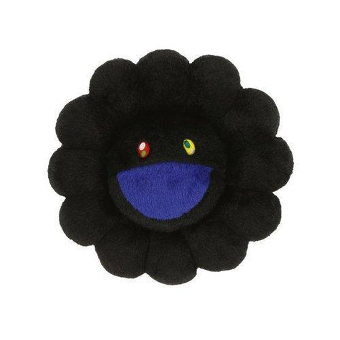 Takashi Murakami Flower Pillow Black