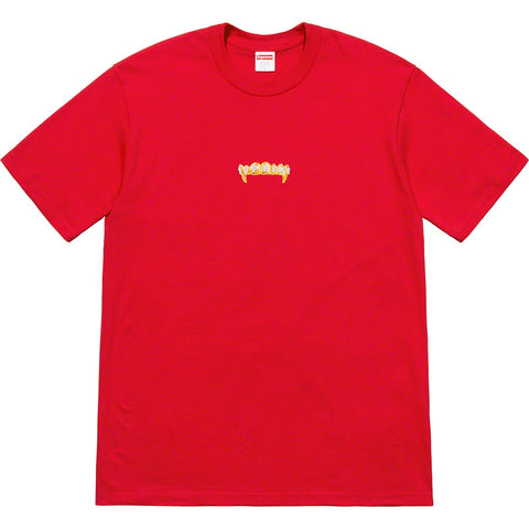 Supreme Fronts Tee Red