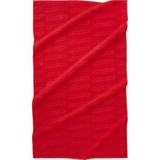 Supreme Debossed Logo Beach Towel Red