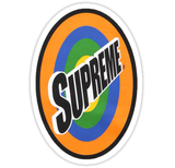 Supreme Spin Sticker