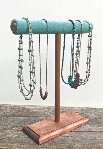 Jewellery Stand Designs : Jewelry stands retail product display holders wooden custom
