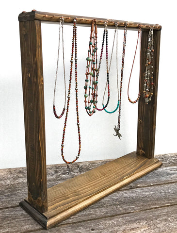 Jewelry Stands Amp Retail Product Display Holders Wooden