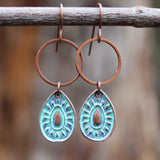 Small Patina Drop Earring