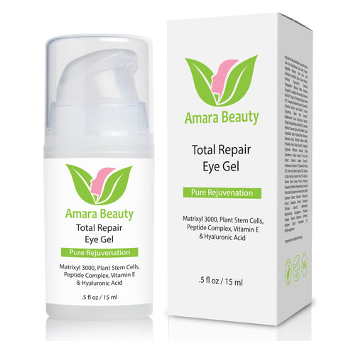 Total Repair Eye Gel With Peptides & Plant Stem Cells - .5 oz