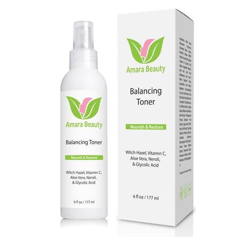 Balancing Facial Toner with Witch Hazel & Vitamin C - 6 oz