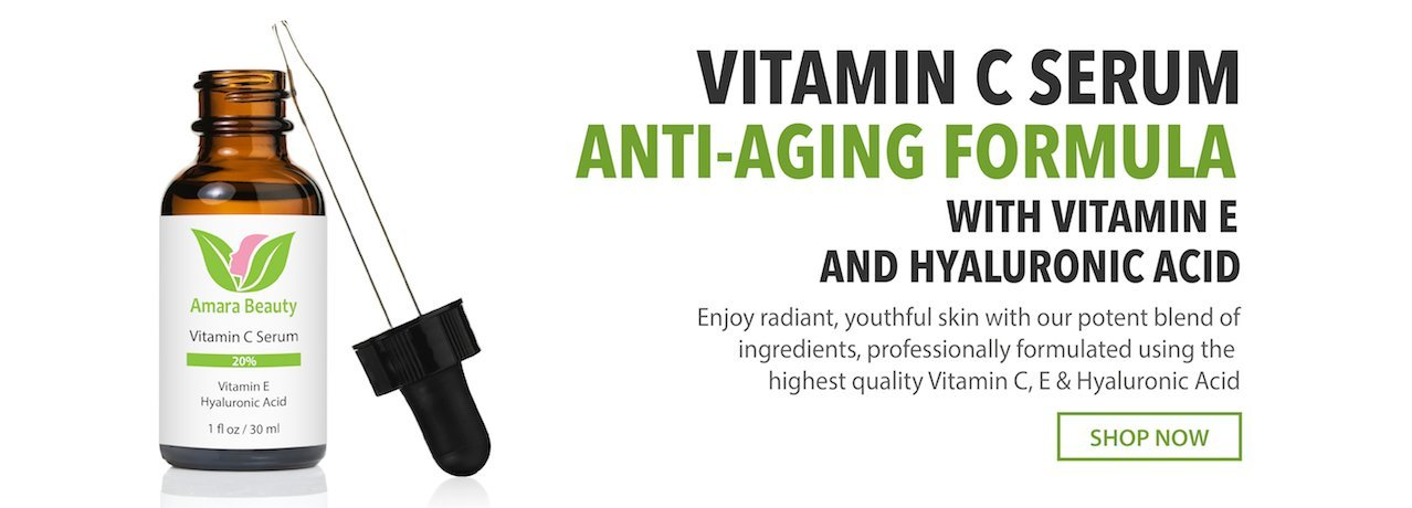 Vitamin C Serum Anti-Aging Formula With Vitamin E And Hyaluronic Acid