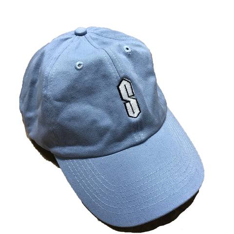 "Nostalgic ""S"" Dad Hat - Light Blue"