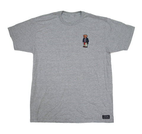 1992 Polo Bear T-shirt - Gray