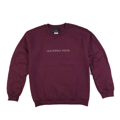Old School Youth Crewneck Sweatshirt