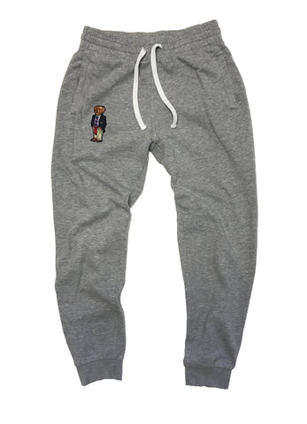 1992 Polo Bear Fleece Joggers - Gray