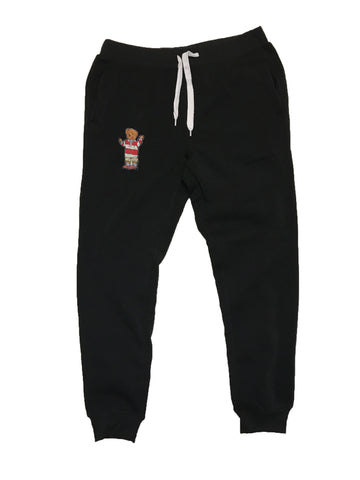 1992 Polo Bear Fleece Joggers - Black