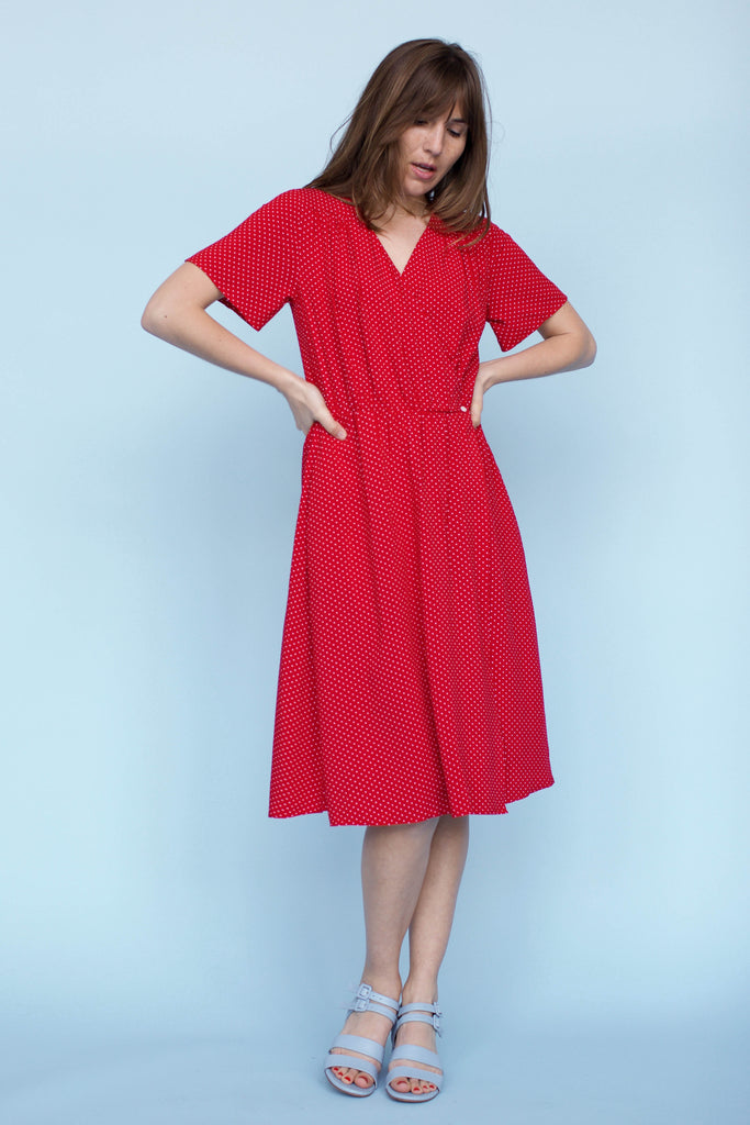 Sonnet James - CHELSEA - RED DOT - Dress