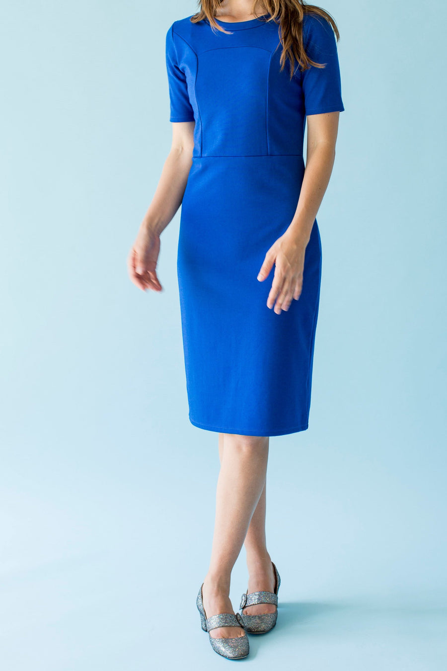 Sonnet James - PETRA - ROYAL BLUE - Dress  ,Royal Blue